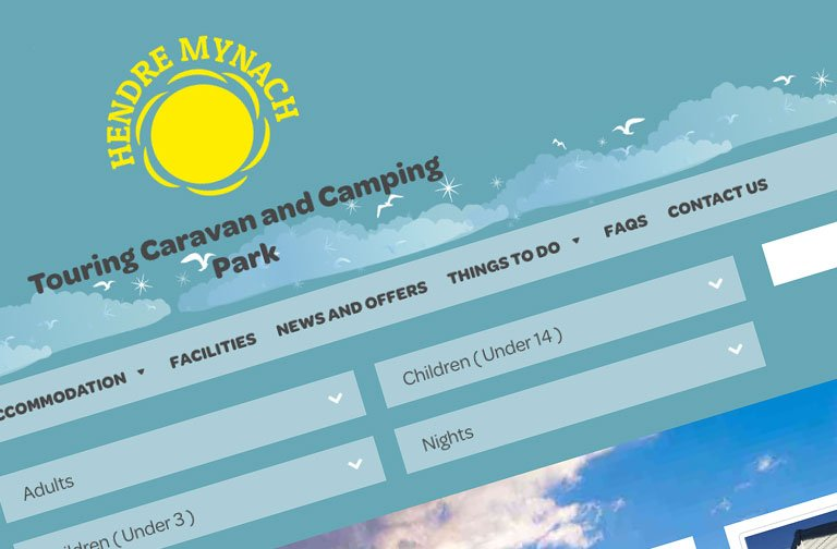 hendre mynach new website